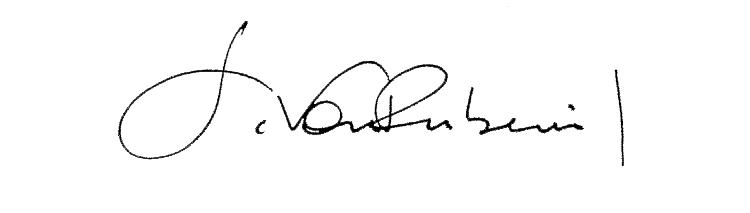 sandra von rubenwil Signature