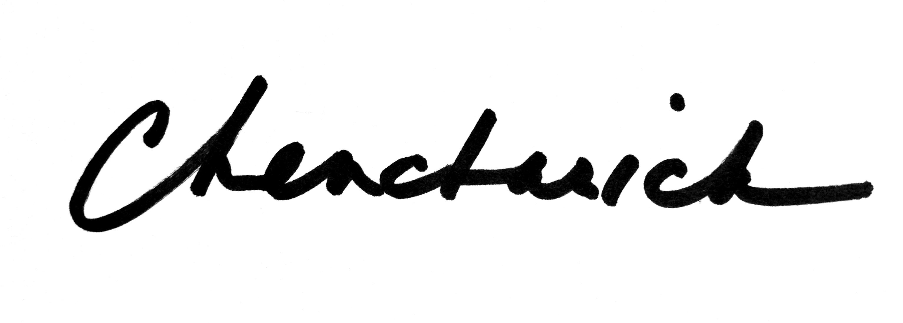 Diane Chencharick Signature