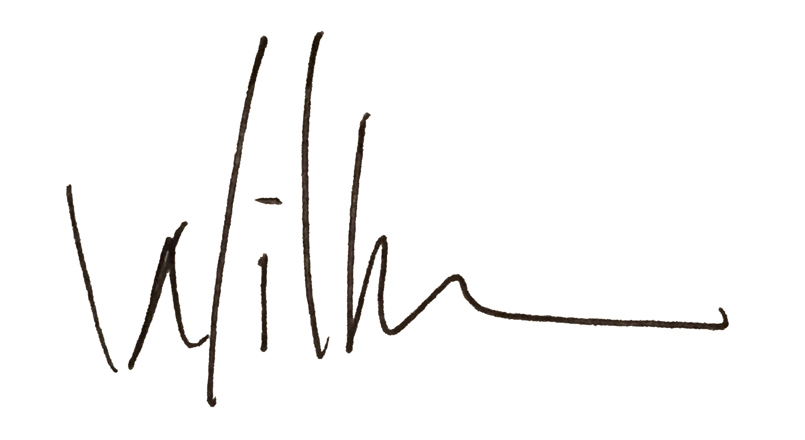 Willy Wilson Signature
