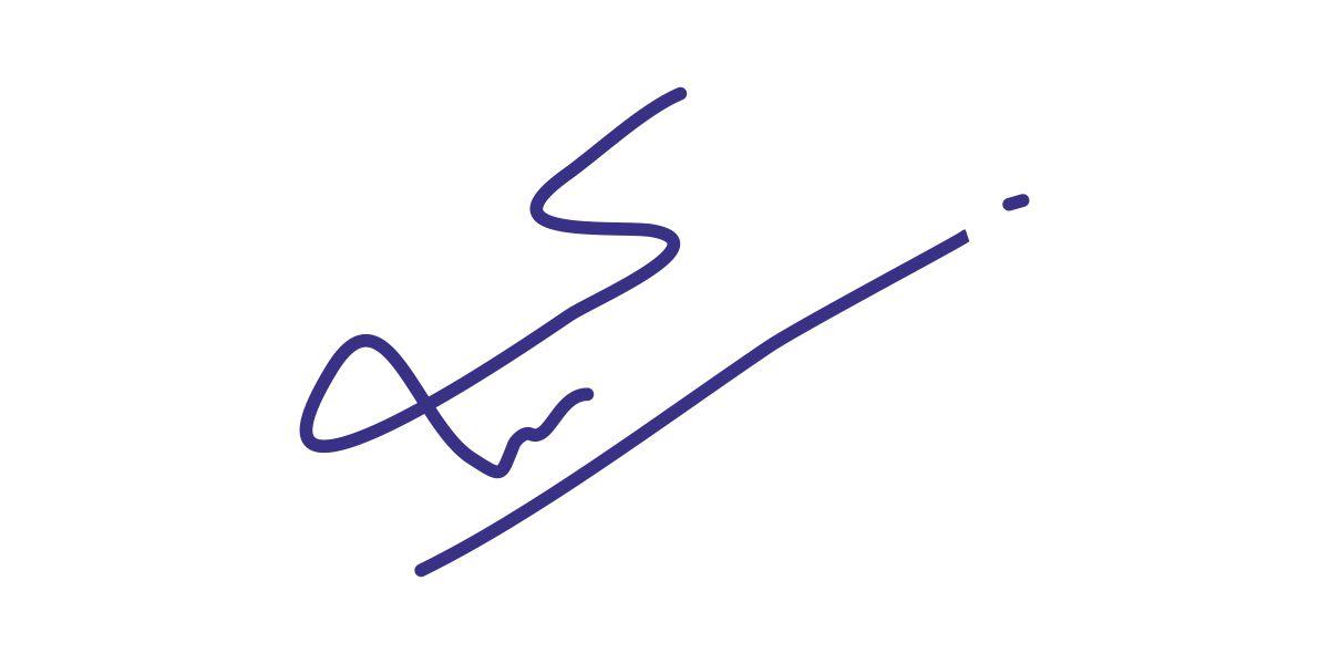Syed Faiz Mubarak Signature