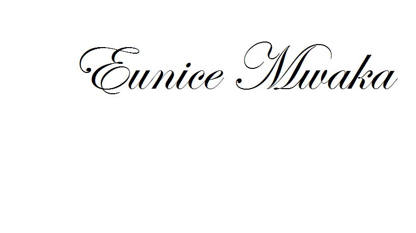 EUNICE MWAKA Signature