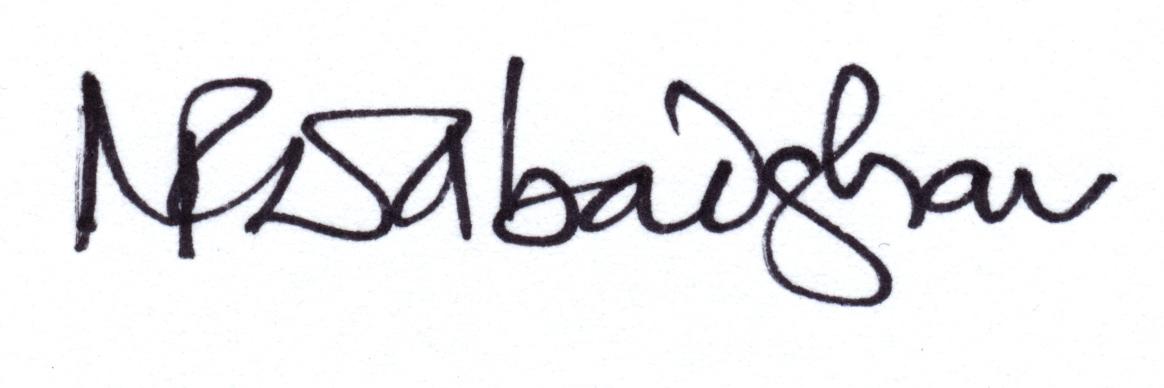 Ninad Dabadghav Signature