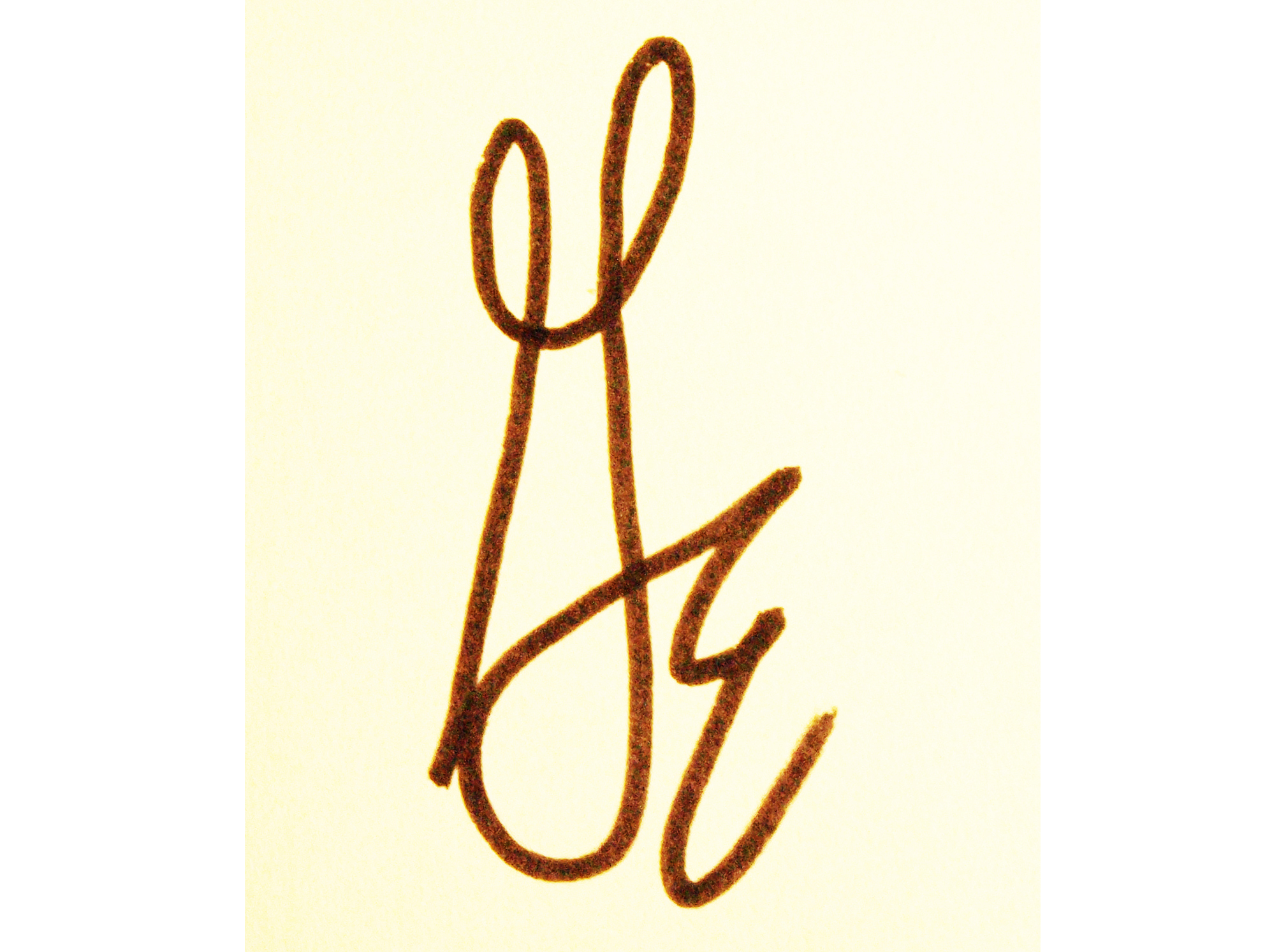 George Marlowe Signature
