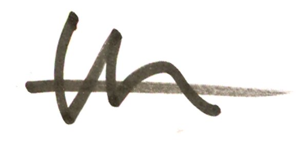 Douglas Thompson Signature