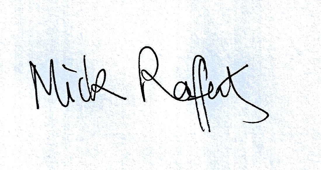 Michael Rafferty Signature