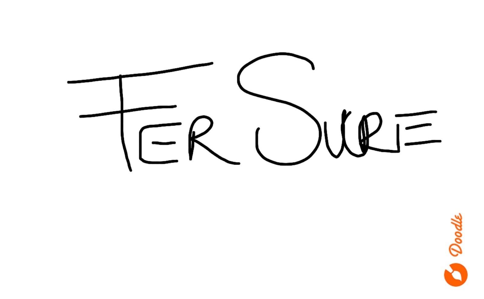 Fernando  Sucre Signature