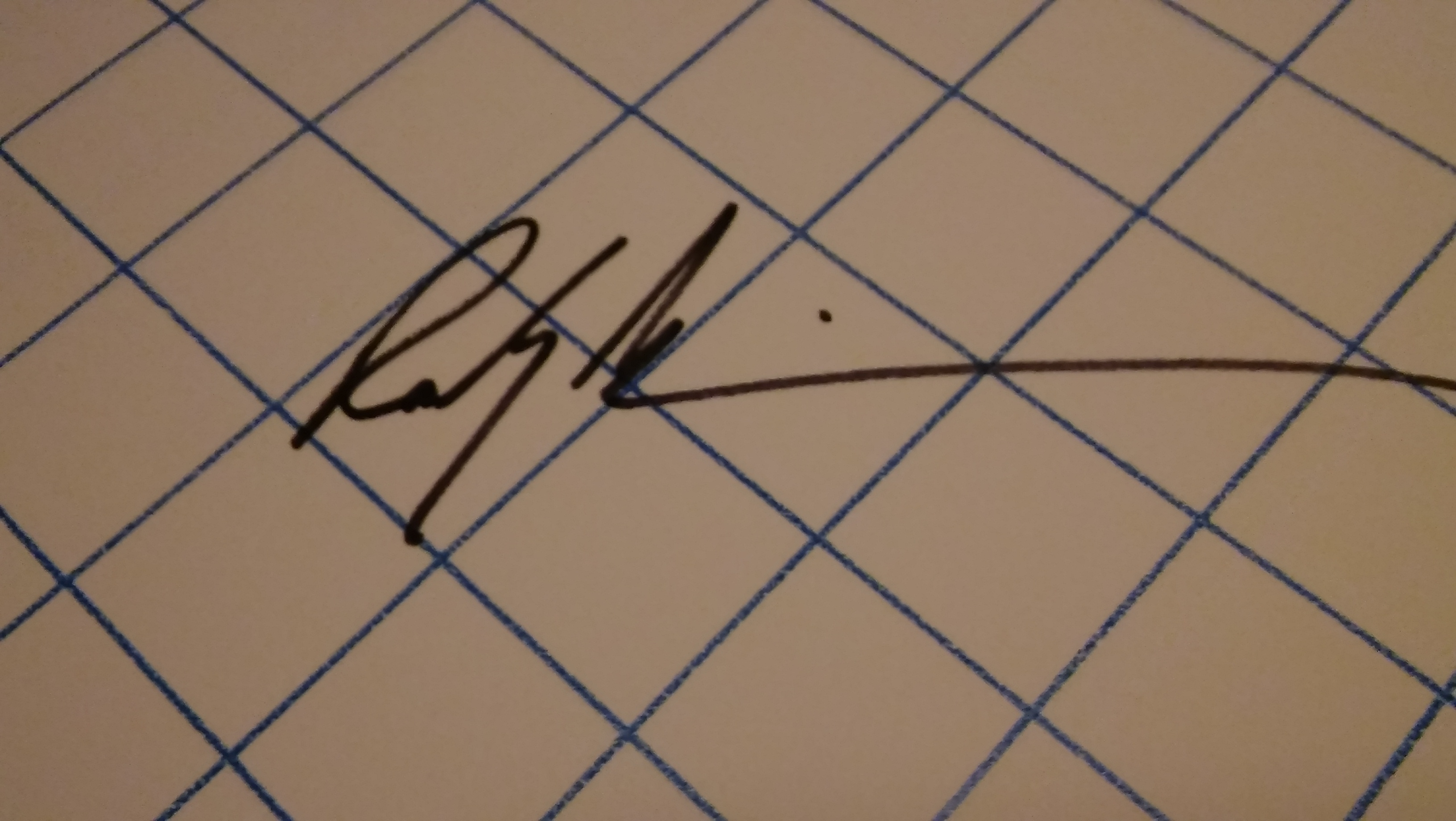 Randy Wilkerson Signature