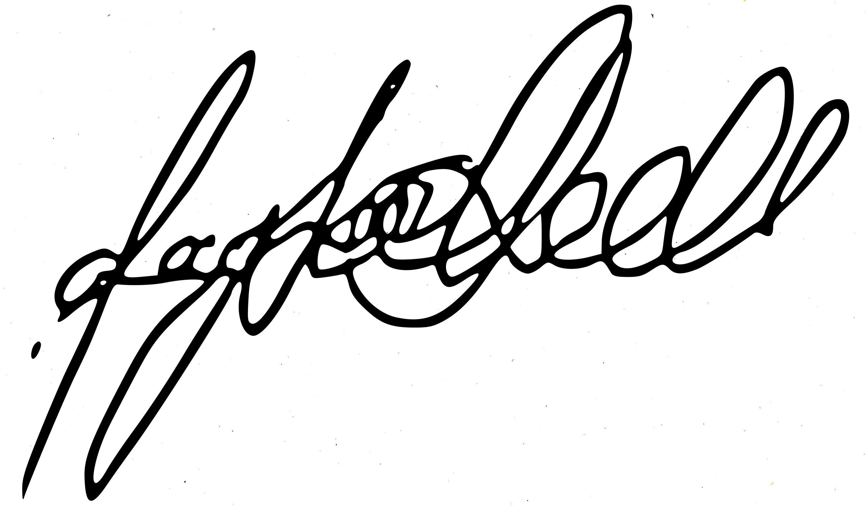 Taylor Hall Signature
