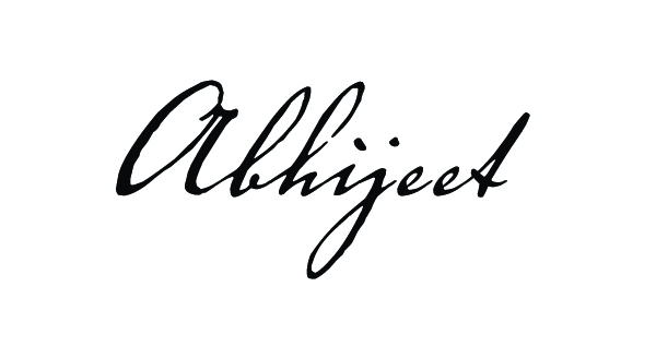 abhijeet sinha Signature