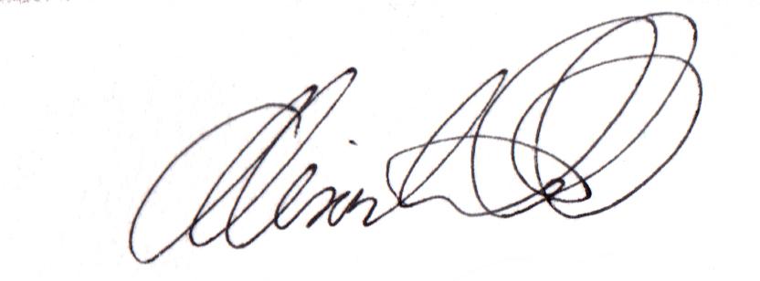 Alison Watt Signature