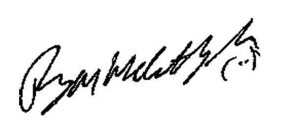 Ryan McCarthy Signature