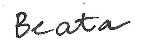 Beata Wehr Signature