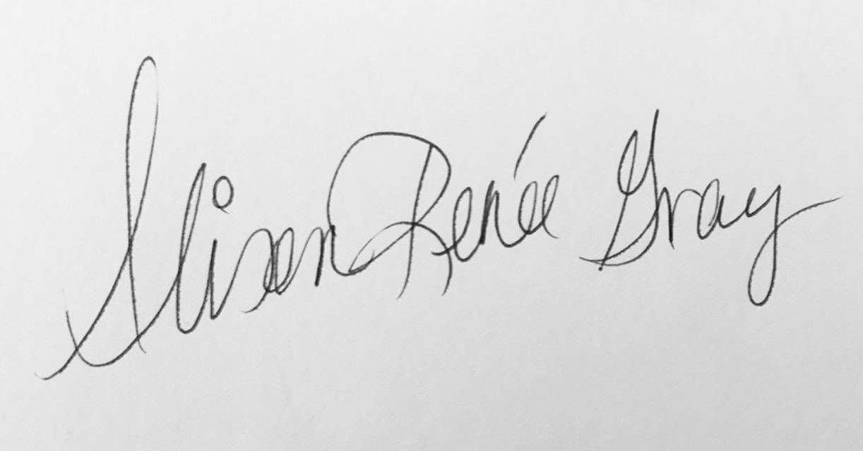 Alison Gray Signature