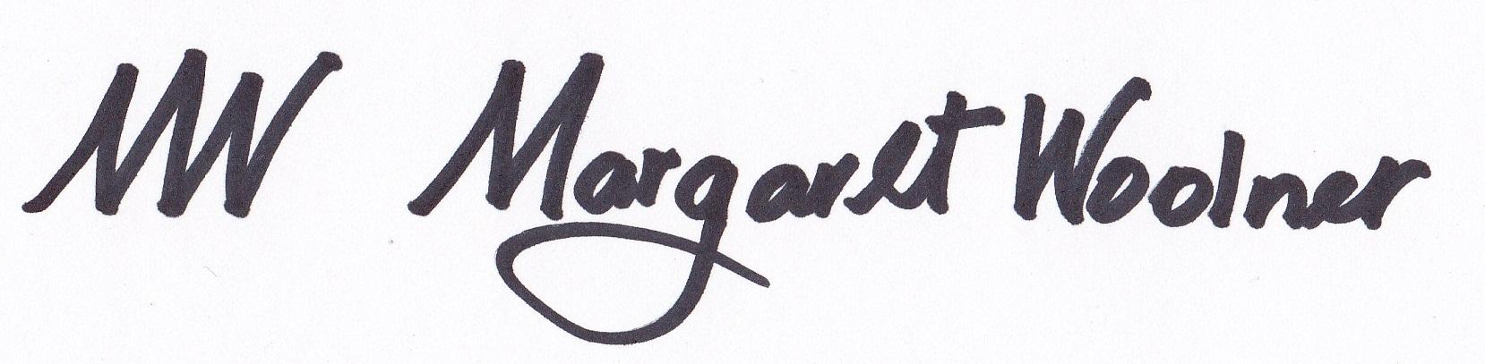 MARGARET WOOLNER Signature