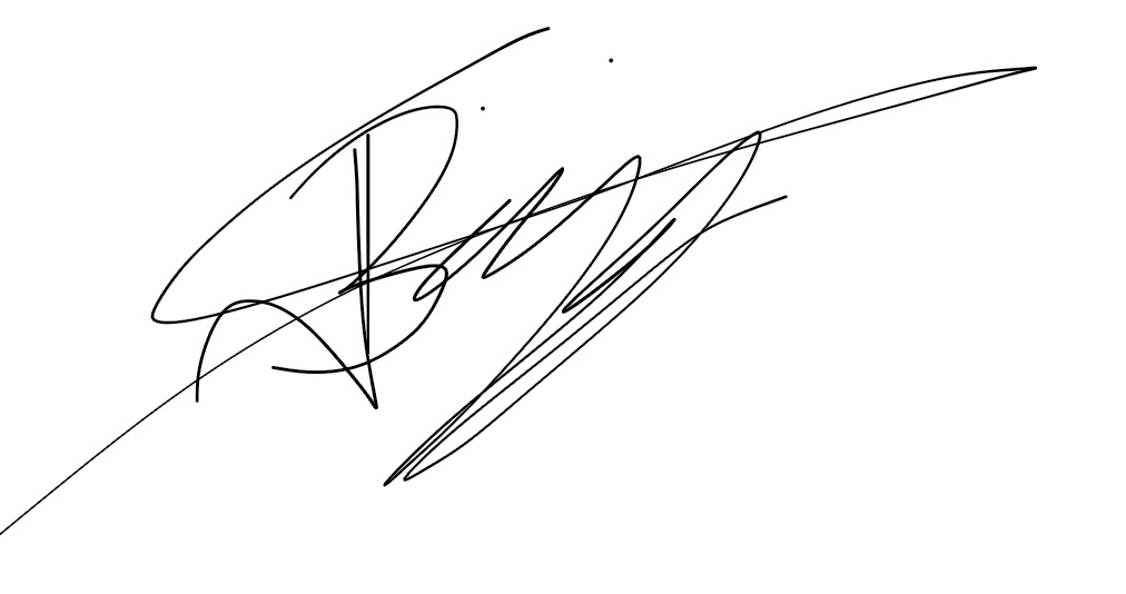 Jake biggin Signature