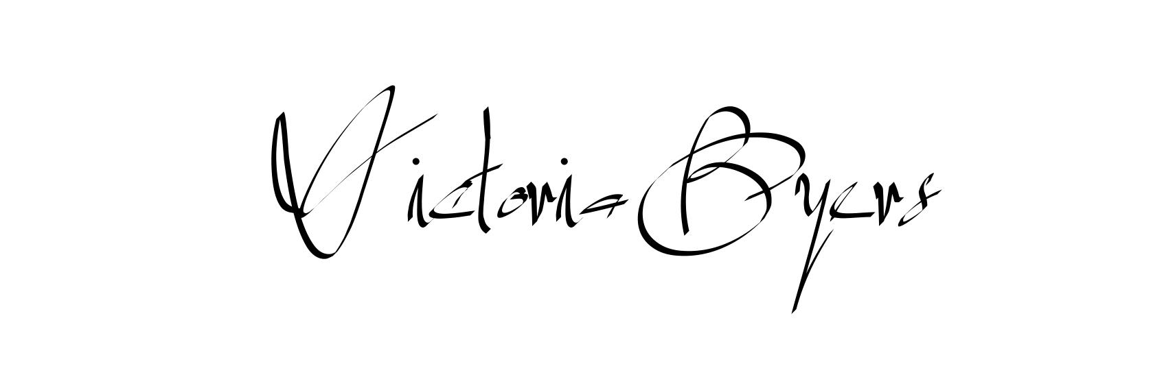 Victoria Byers Signature