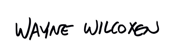 Wayne Wilcoxen Signature