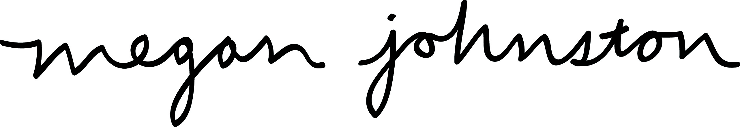 Megan Johnston Signature