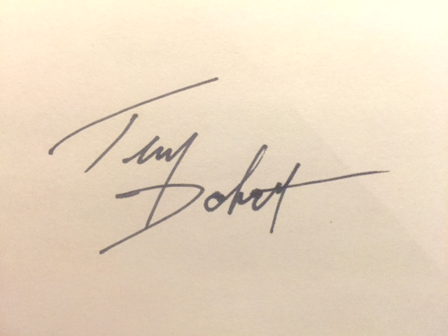 Tim Dobert Signature