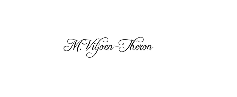 Madeleen Viljoen-Theron Signature