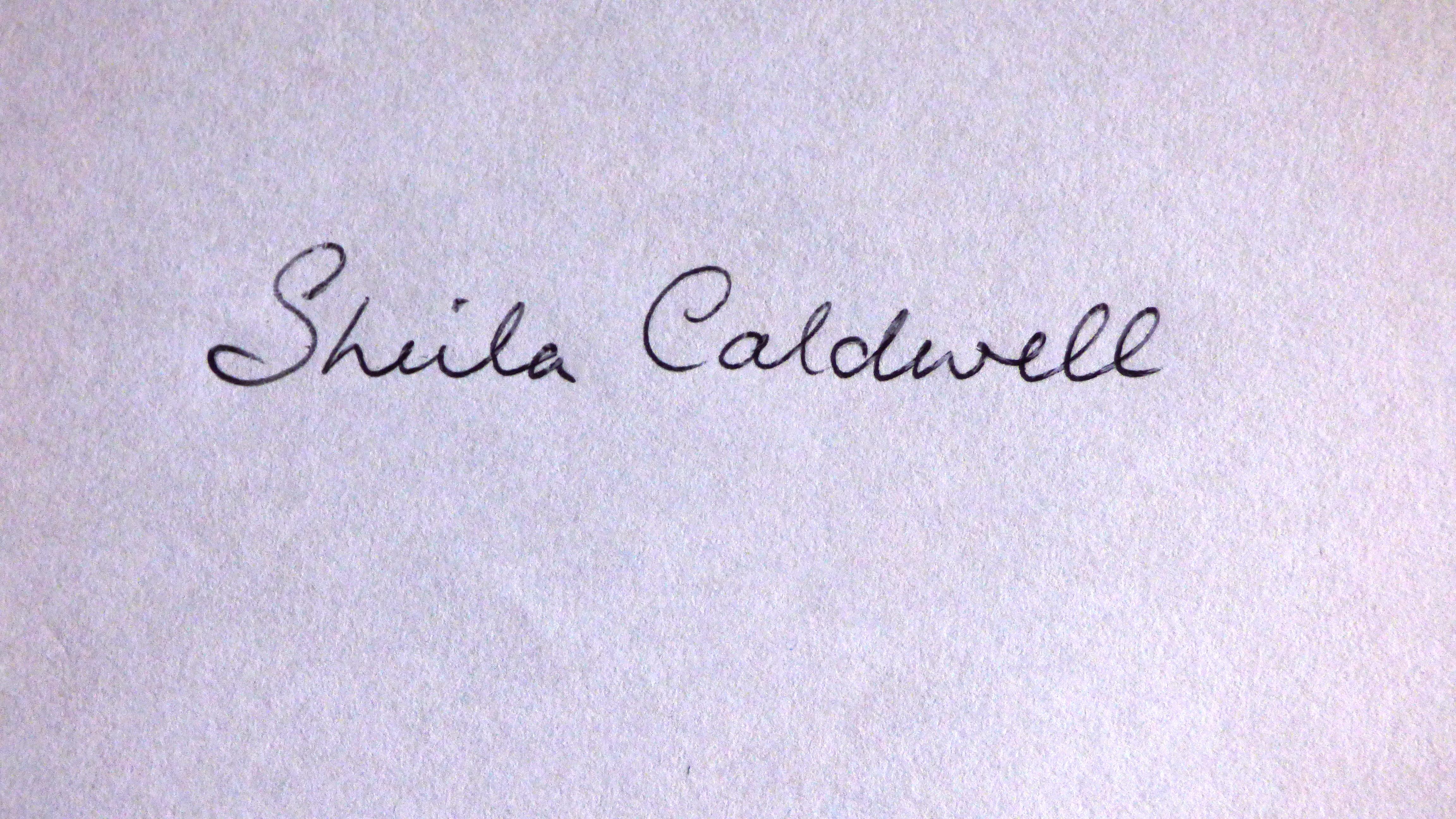 Sheila Caldwell Signature