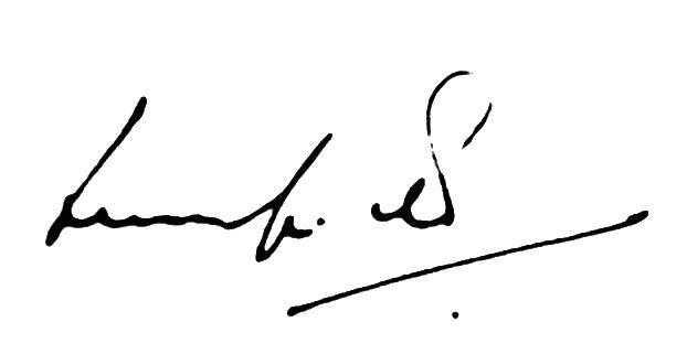 Ludolf R. Grollé Signature