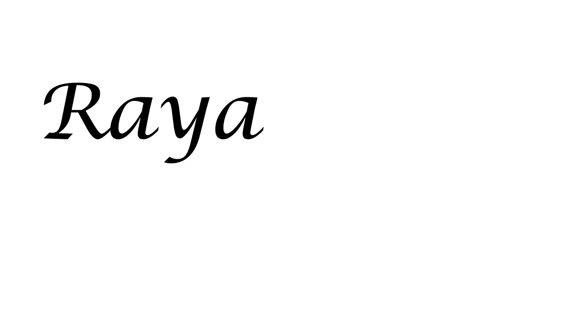 Raya Grinberg Signature
