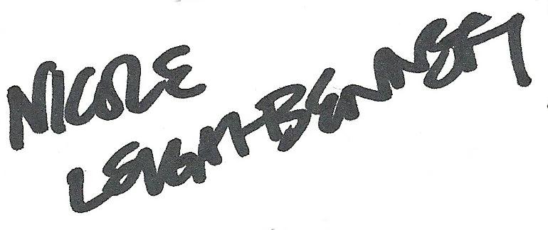 Nicole Leigh-Bennett Signature