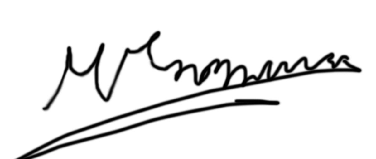 George Martzoukos Signature