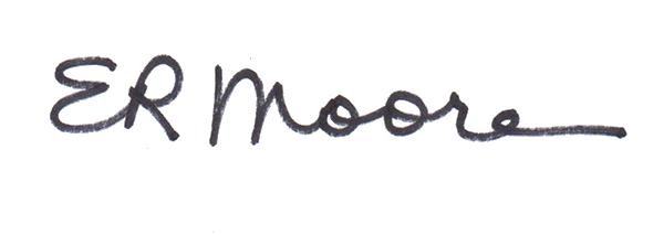 Elizabeth Moore Signature