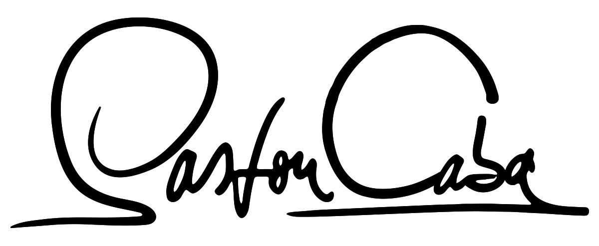 Gaston Caba Signature