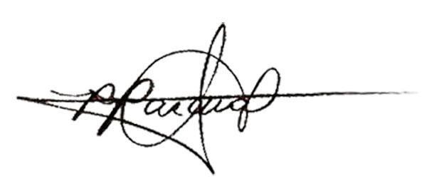 Rommel Pascual Signature