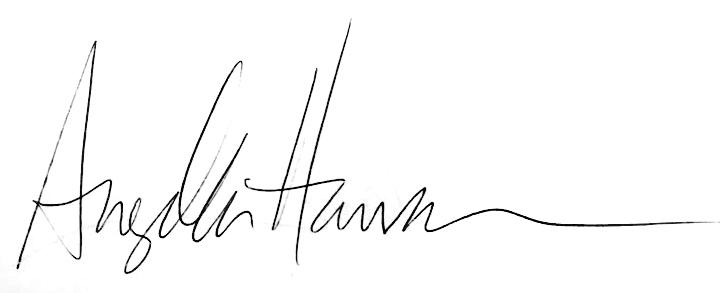 Angela Hansen Signature