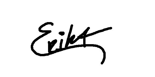Erika Cespedes Signature