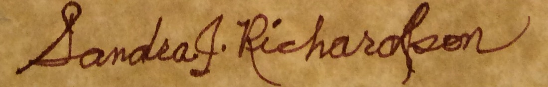 Sandra Richardson Signature