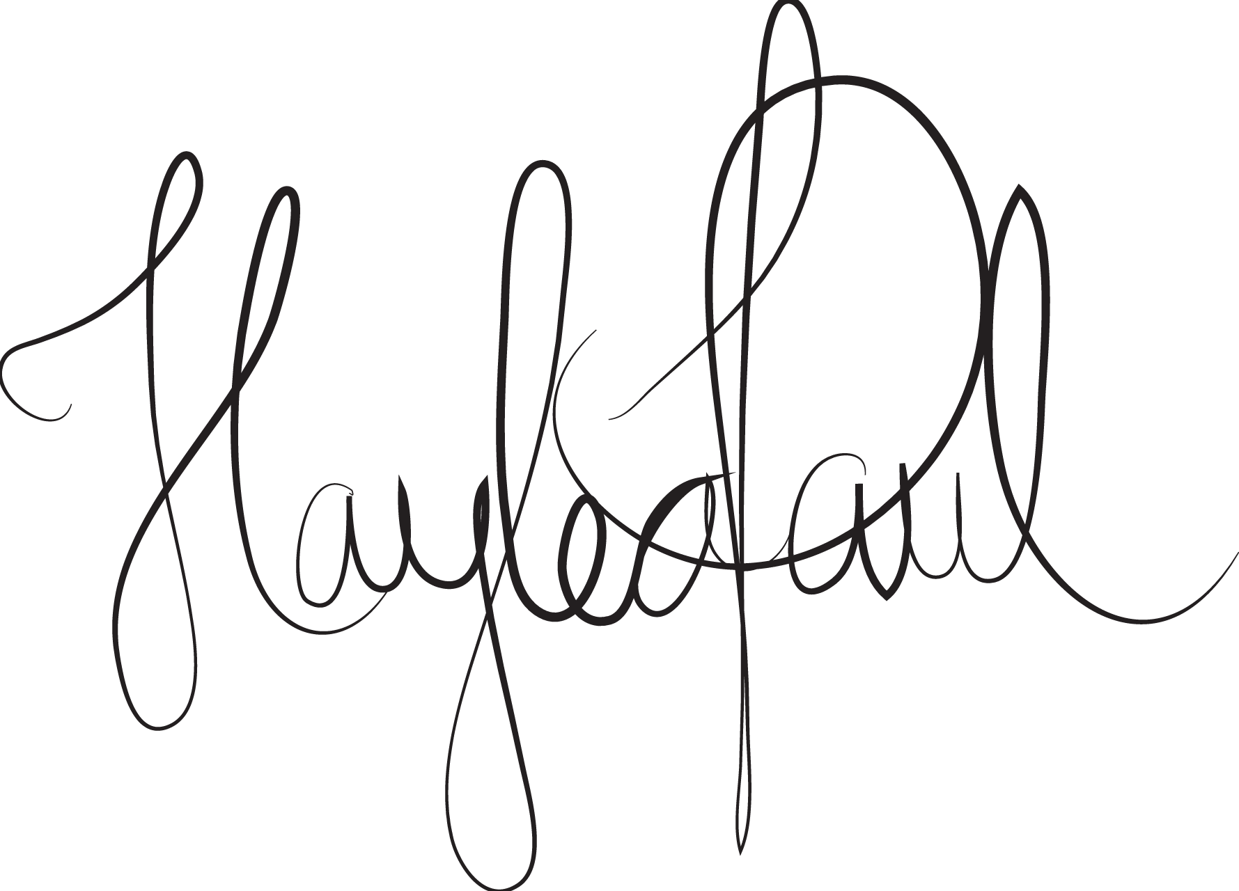 haylea paul Signature