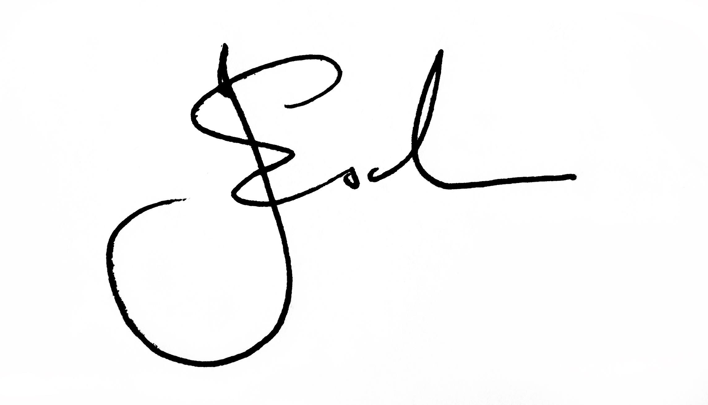 Jae Esch Signature
