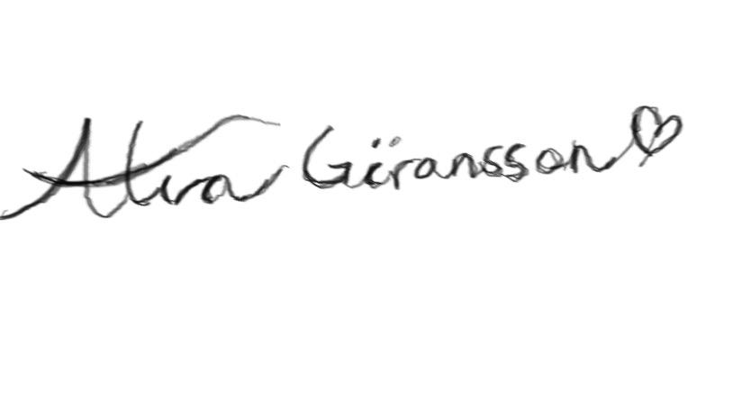 Alva Göransson Signature