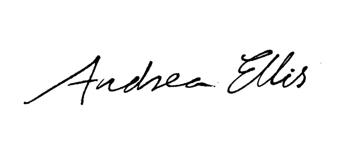 Andrea Ellis Signature