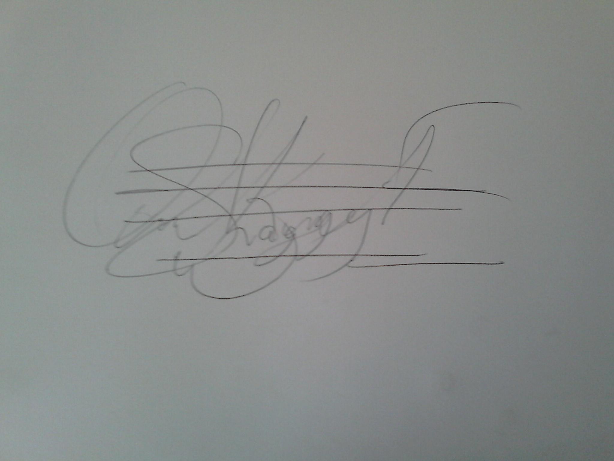 Ofosu  Kwarteng Emmanuel Signature