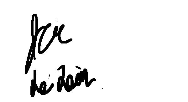 Jeremias de Leon Signature