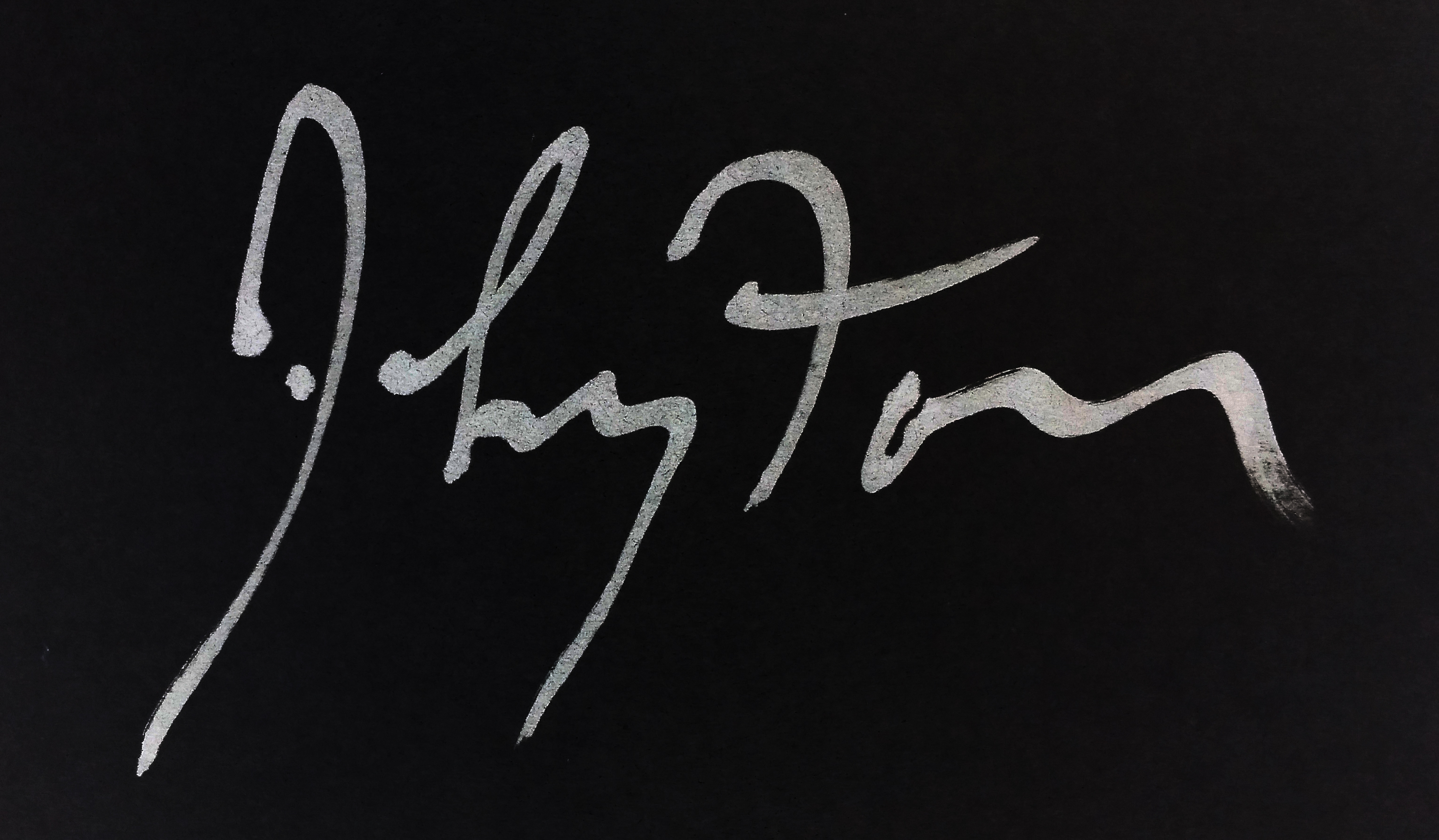 Kenneth Johnston Signature