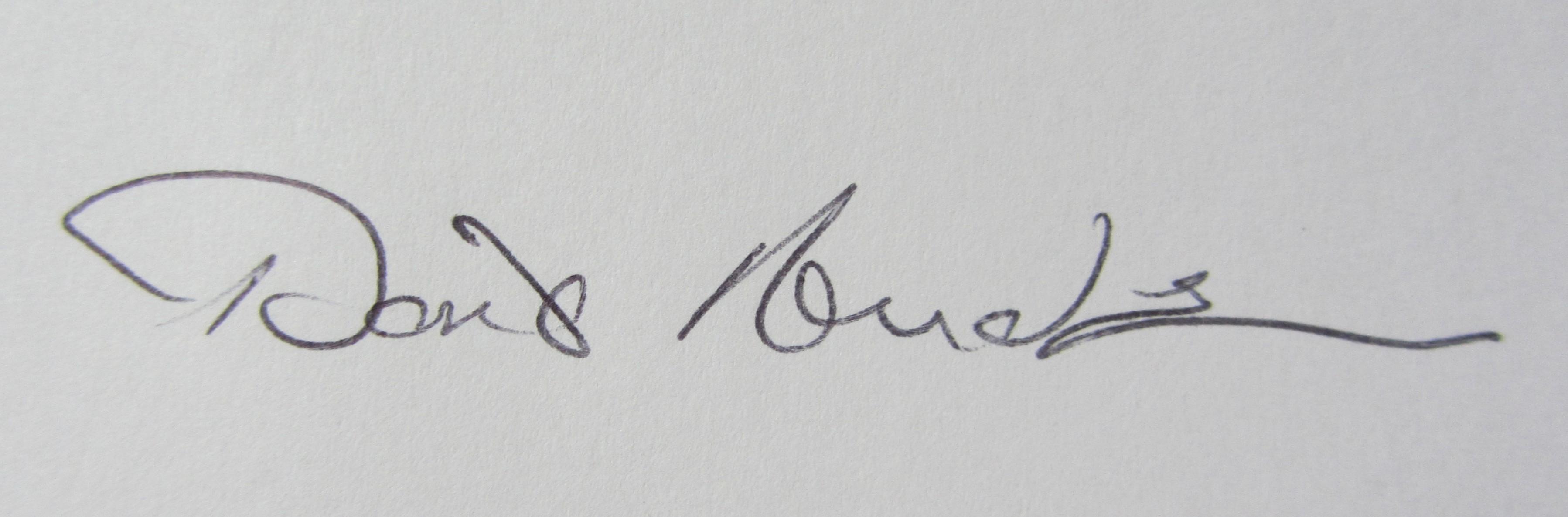 Doris Anderson Signature