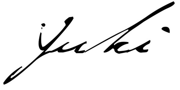 Yukari Vlasaty Signature
