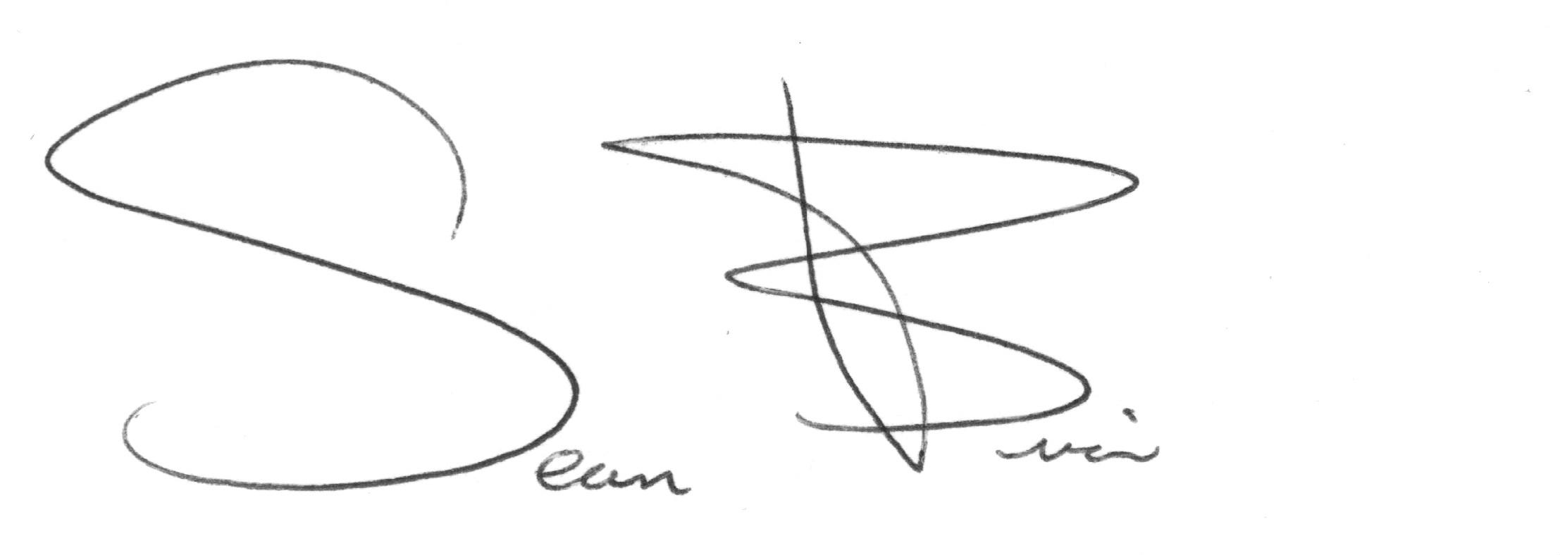 Sean brian Signature