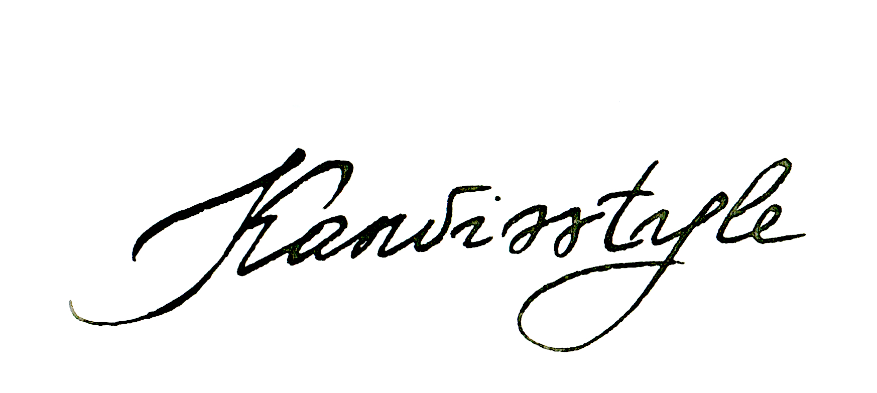 Sviatlana Kandybovich Signature