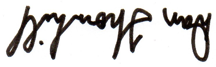 Dan Thornhill Signature