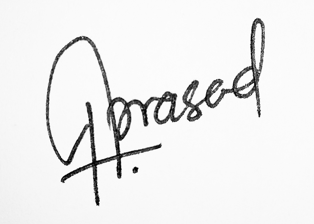 Guruprasad Iyer Signature
