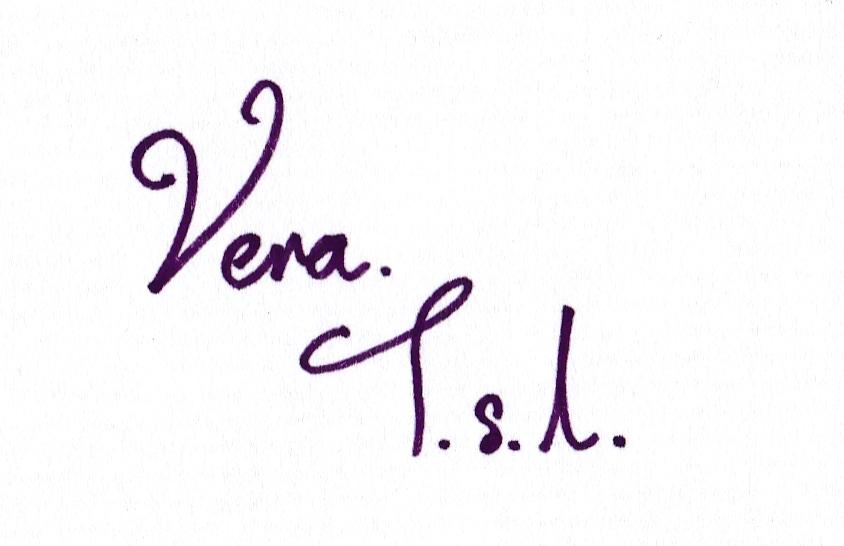 Vera Tan Signature