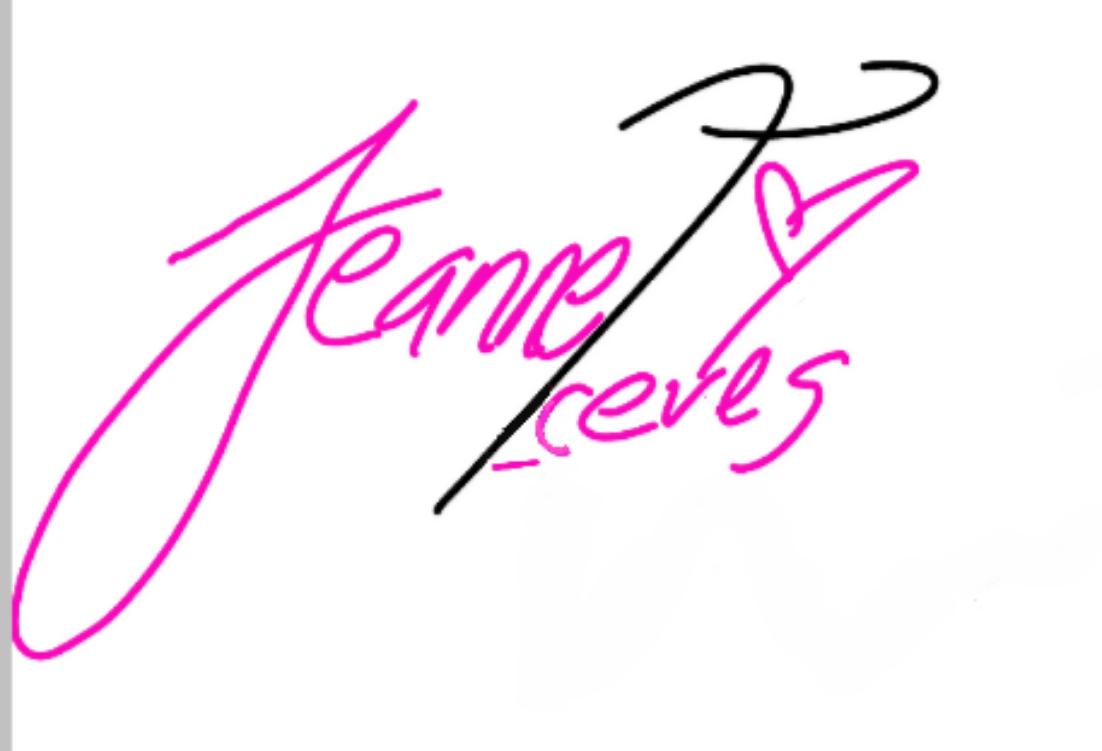 Jeannet Aceves Signature
